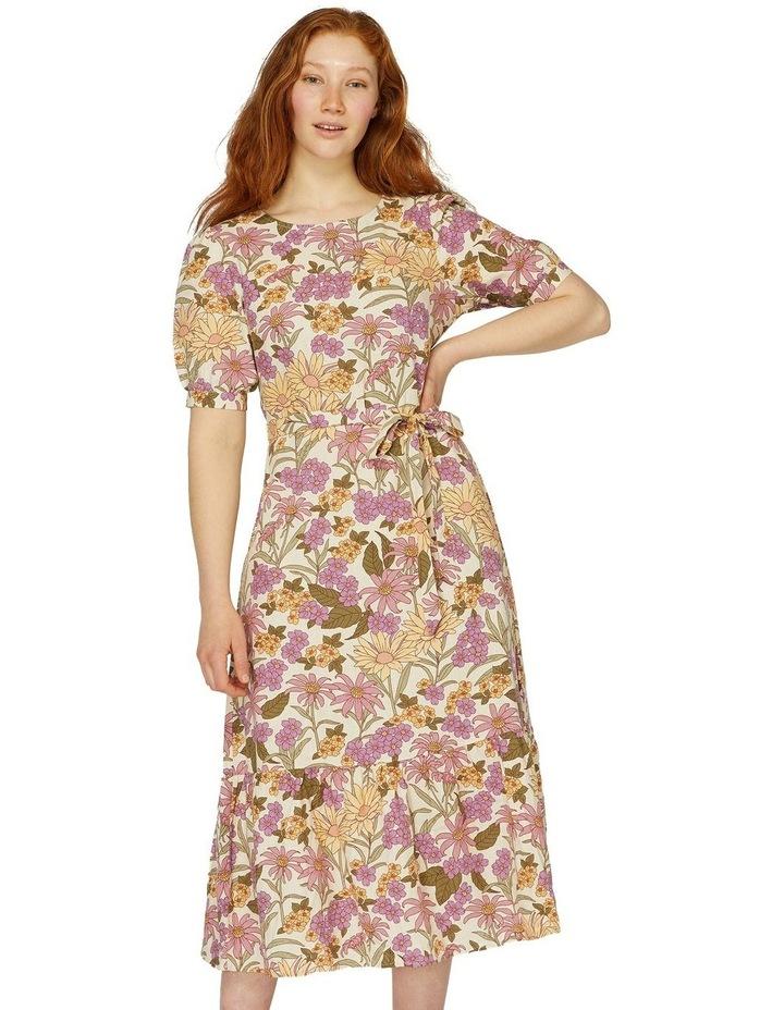 Honey Floral Dress image 1