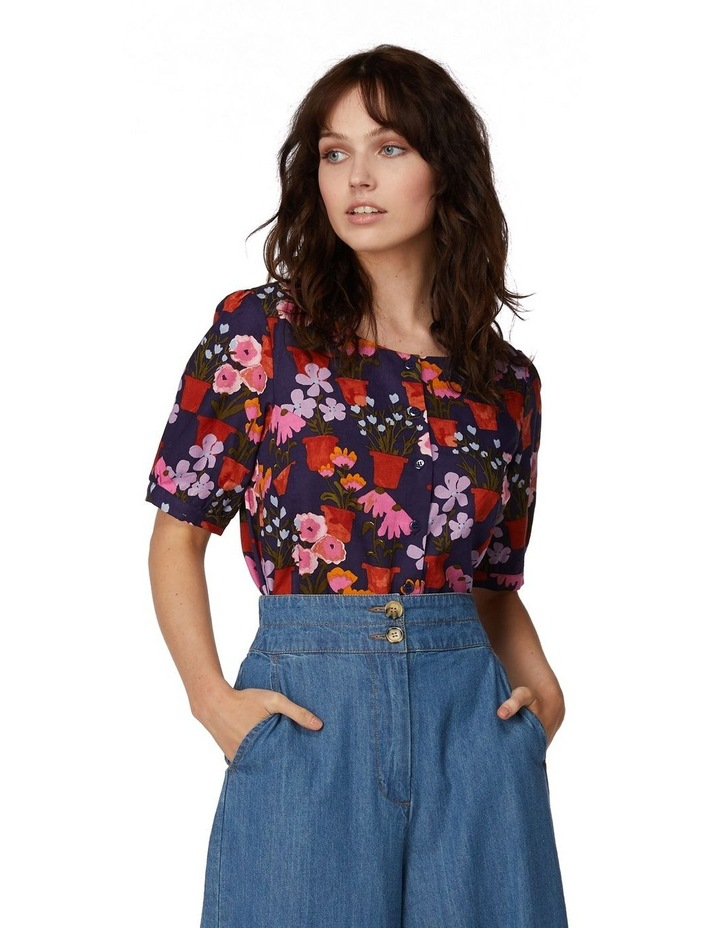 Flower Pots Blouse image 1
