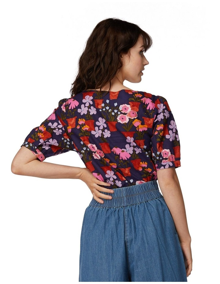 Flower Pots Blouse image 3
