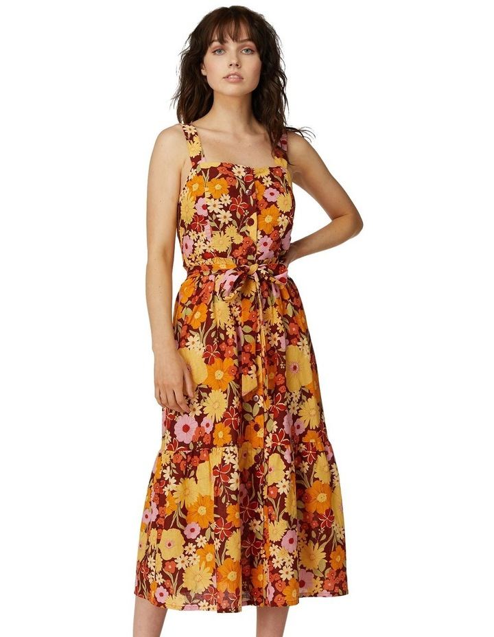 Gina Flora Strap Dress image 1