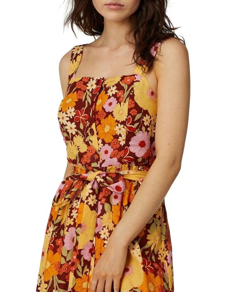 Gina Flora Strap Dress image 3