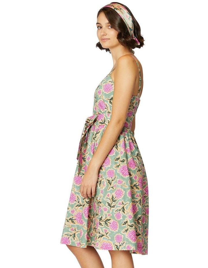 Pom Pom Flower Strap Dress image 2