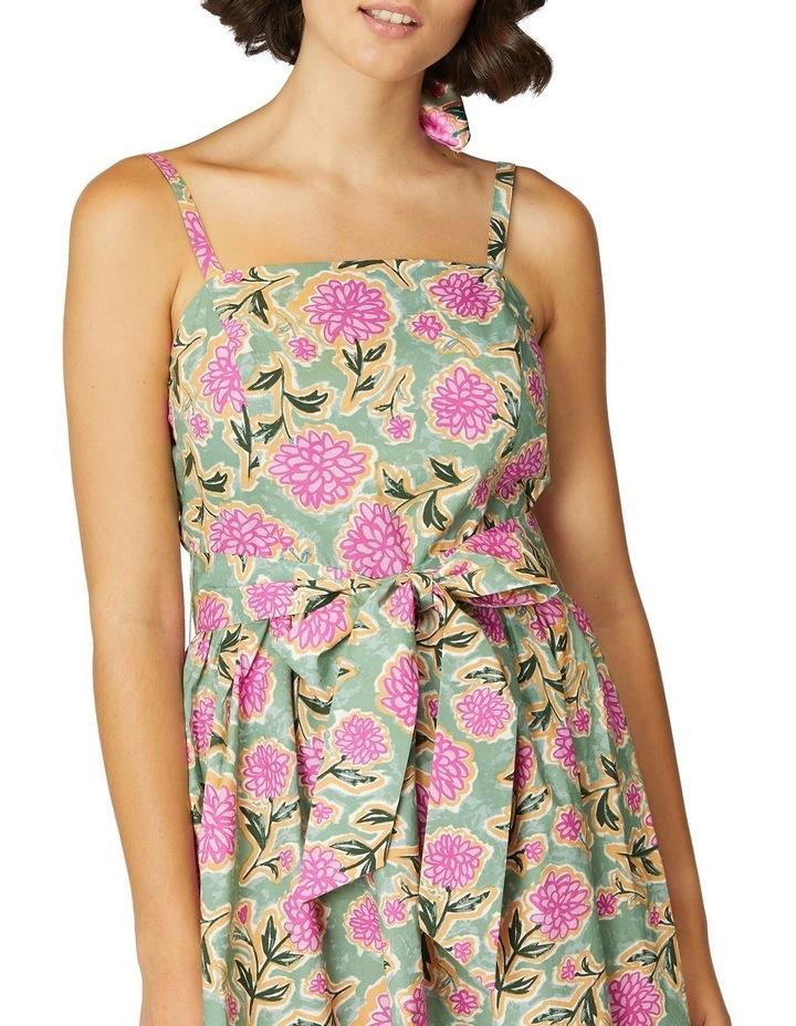 Pom Pom Flower Strap Dress image 4