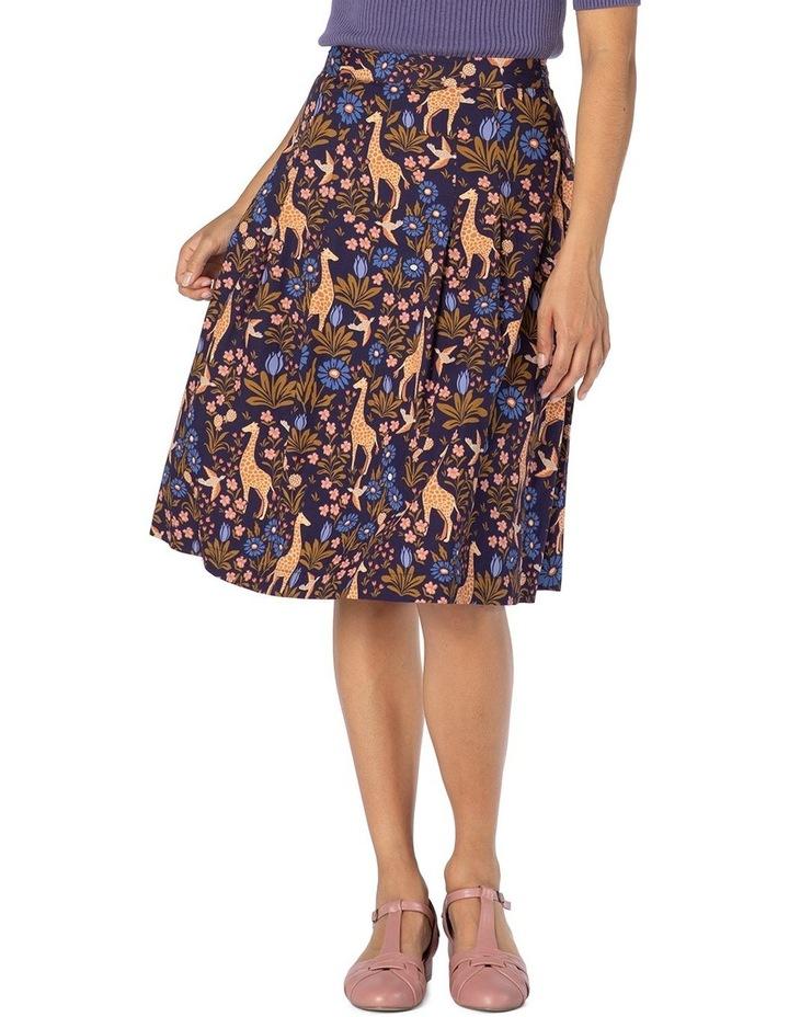 Giraffe & Flower Skirt image 1