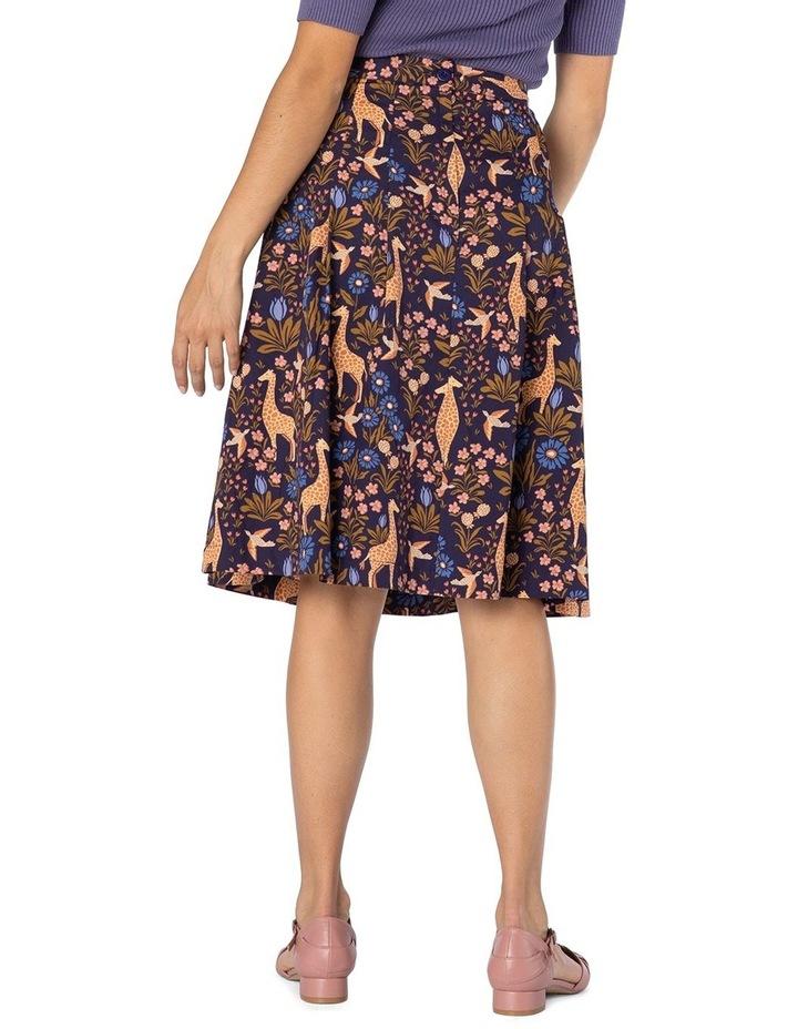 Giraffe & Flower Skirt image 2