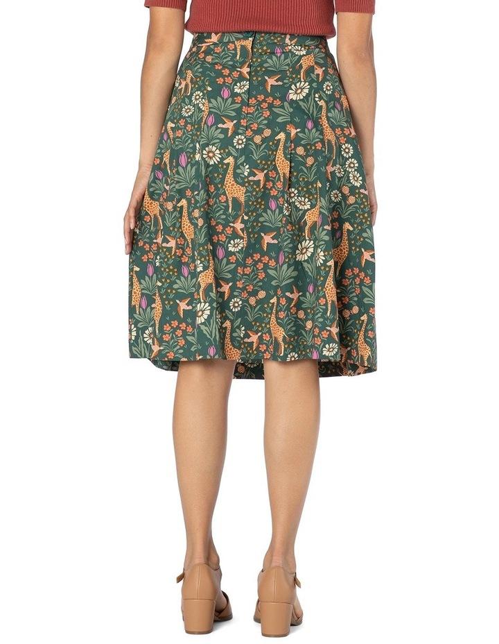Giraffe & Flower Skirt image 3