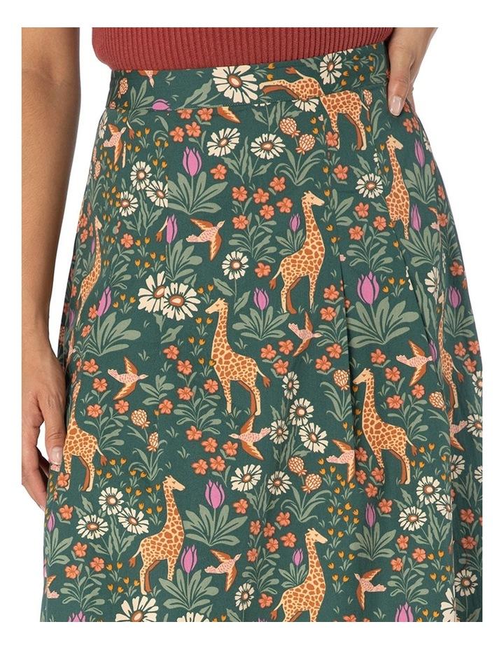 Giraffe & Flower Skirt image 4