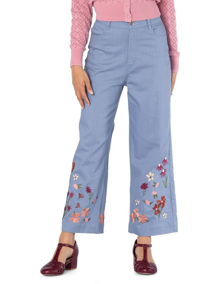 Ingrid Embroidery Jeans image 1