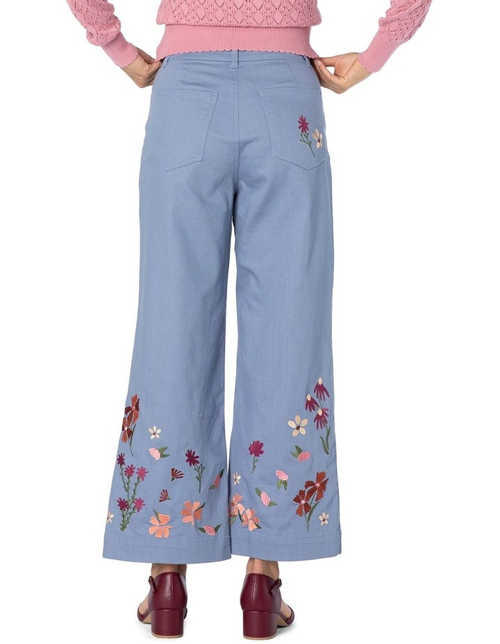 Ingrid Embroidery Jeans image 3