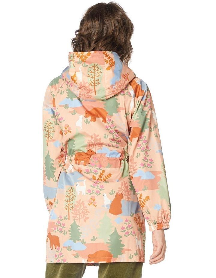 Woodland Bear Long Raincoat image 3