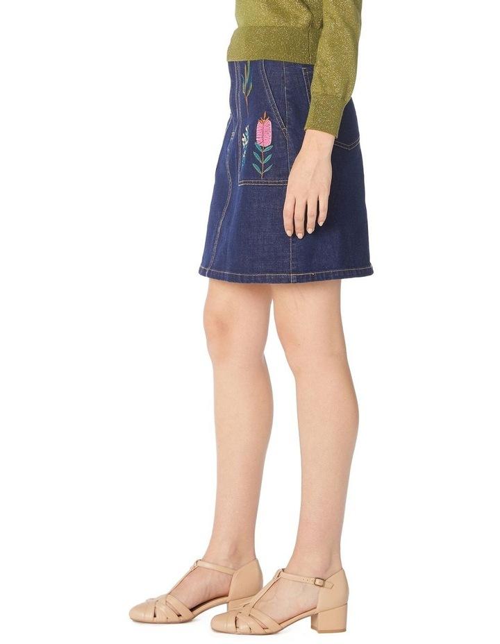 Bella Native Embroidered Skirt image 2