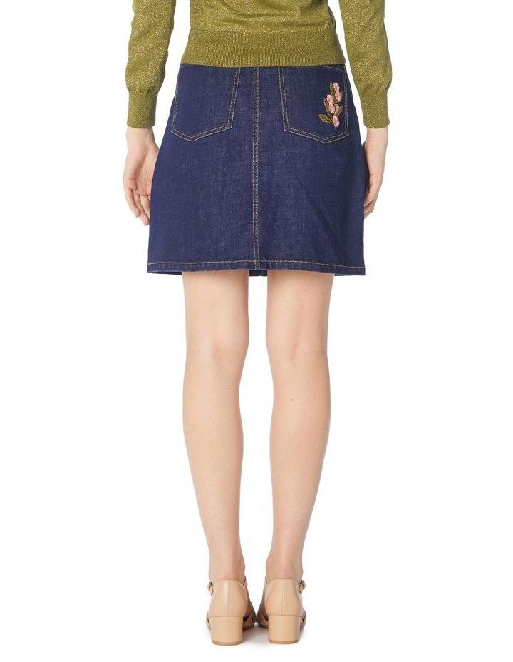 Bella Native Embroidered Skirt image 3