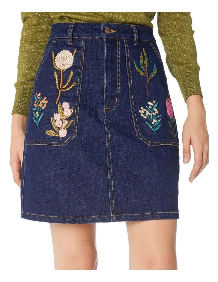 Bella Native Embroidered Skirt image 4