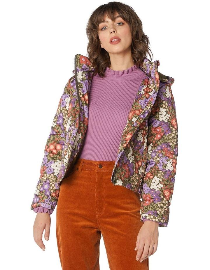 Garden Flora Puffer Jacket image 1