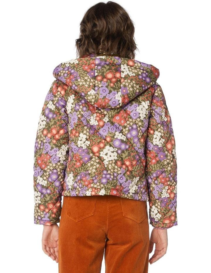 Garden Flora Puffer Jacket image 3