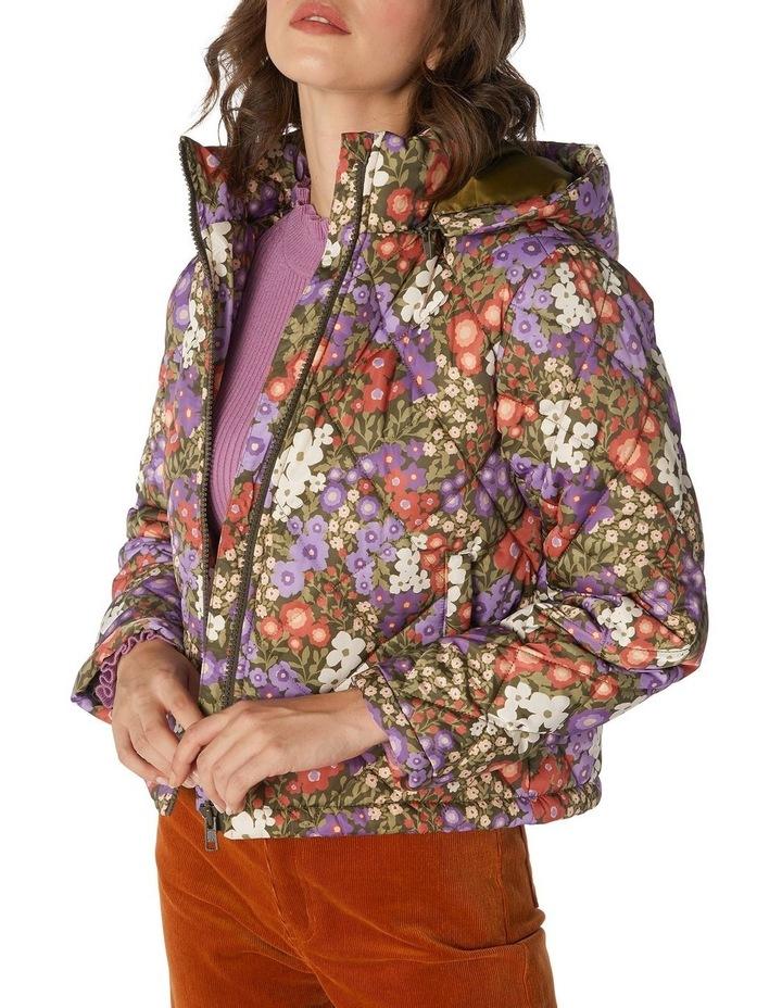 Garden Flora Puffer Jacket image 4