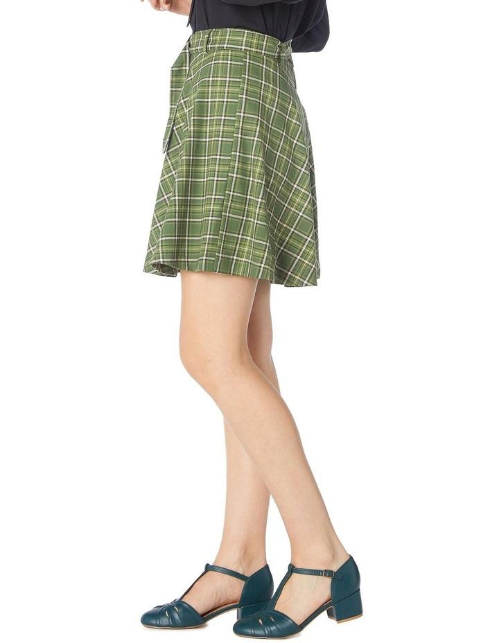 Billy Check Skirt image 2