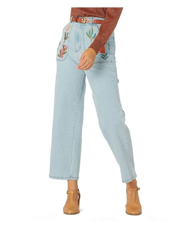 Bella Native Emb Jeans image 1