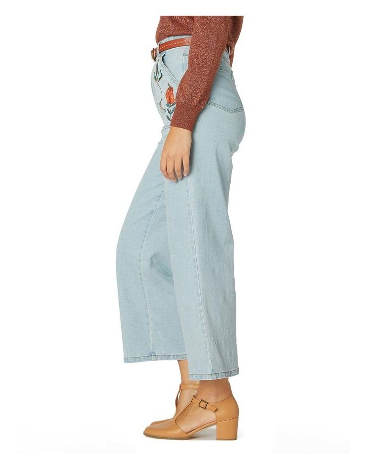 Bella Native Emb Jeans image 2
