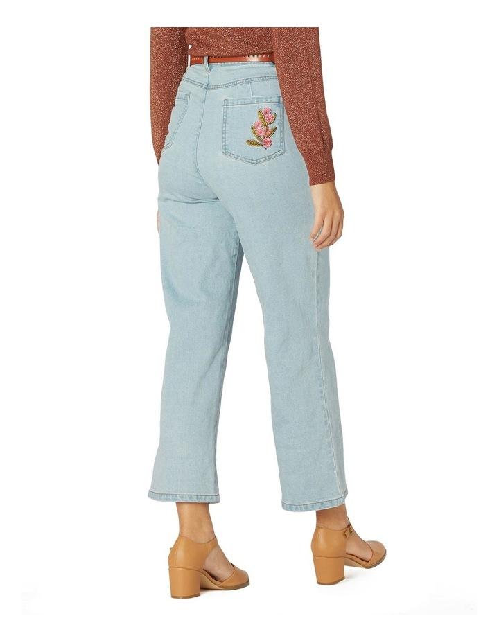 Bella Native Emb Jeans image 3