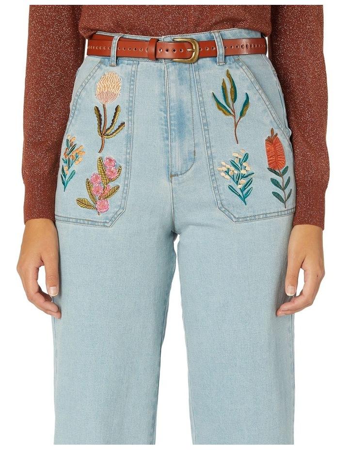 Bella Native Emb Jeans image 4