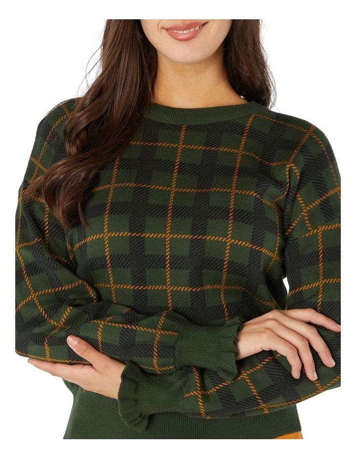 Claudia Check Sweater image 4