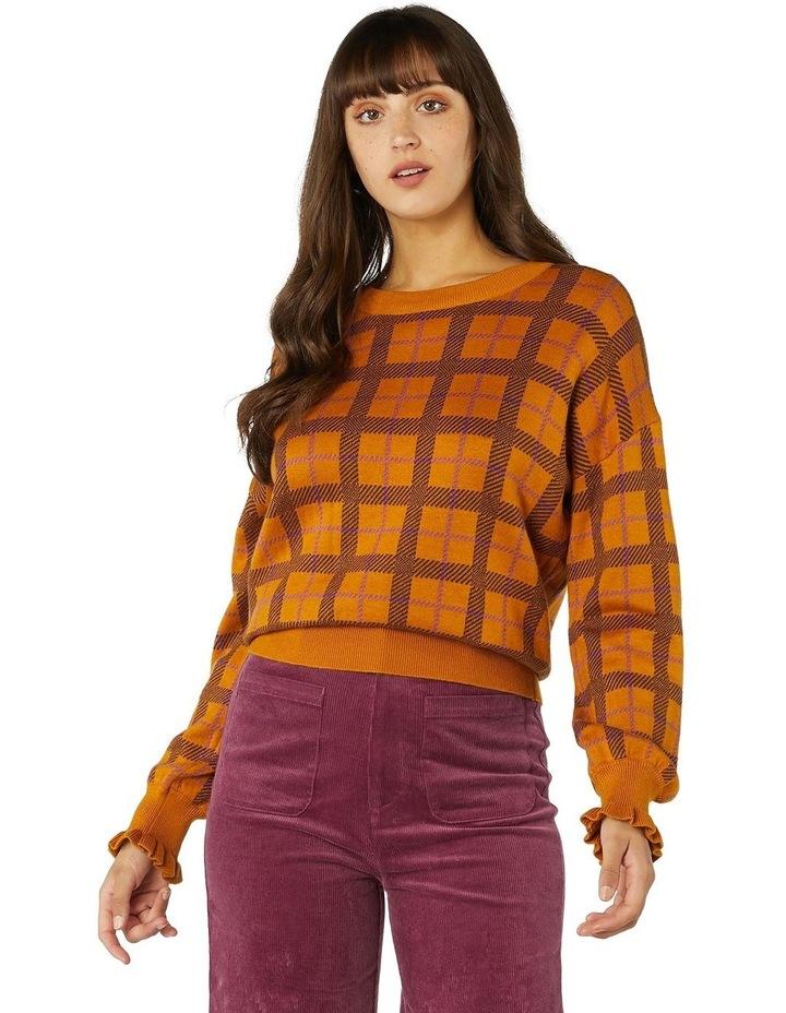 Claudia Check Sweater image 1