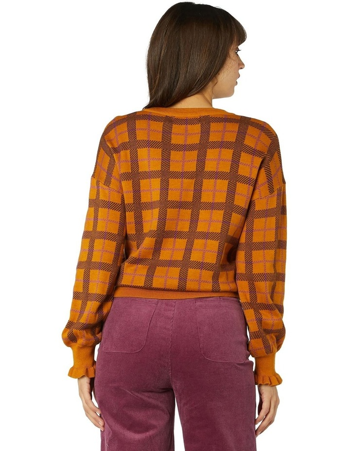 Claudia Check Sweater image 3