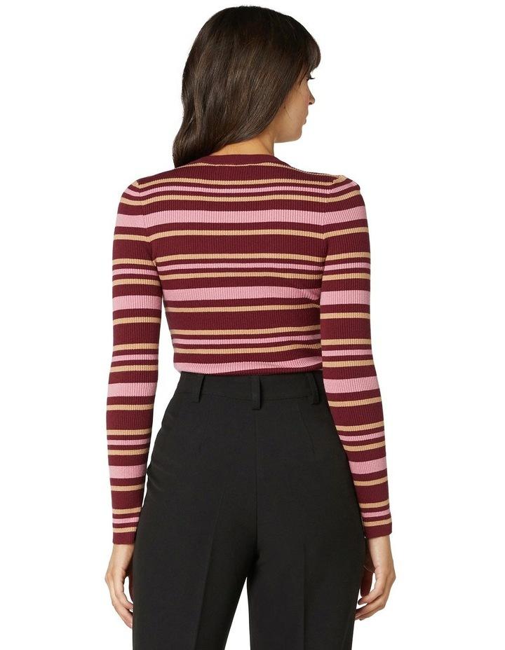 Orla Stripe Knit Top image 3