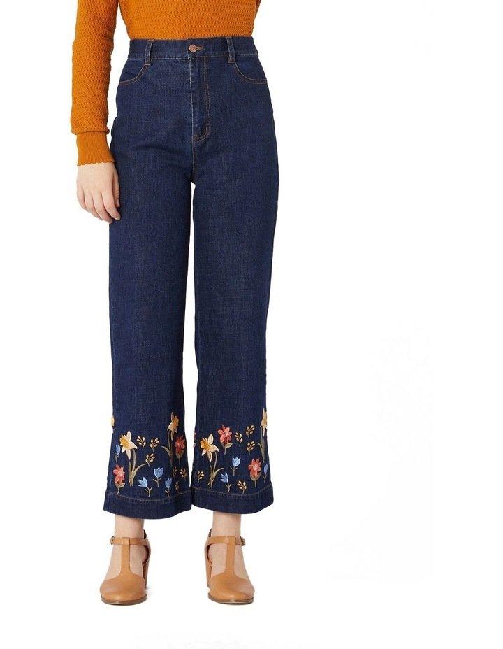 Winona Embroidered Jeans image 1