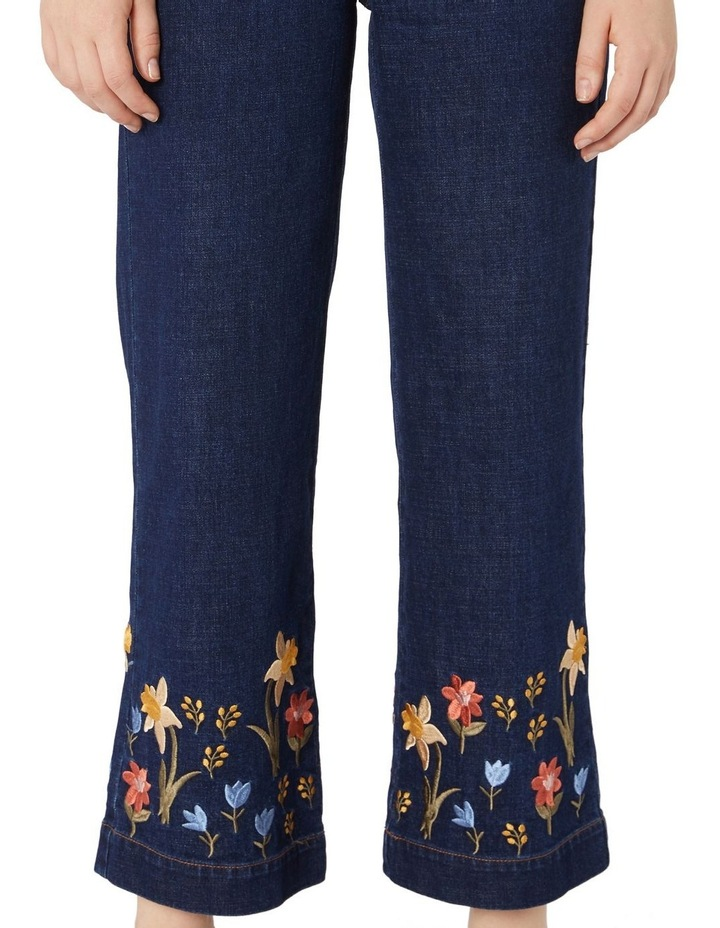 Winona Embroidered Jeans image 4