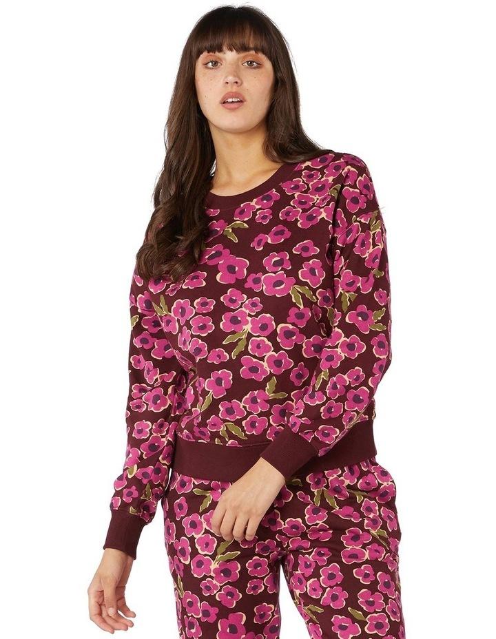 Phoebe Fleece Crew Sweater image 1