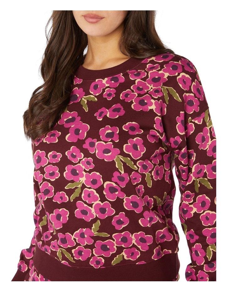 Phoebe Fleece Crew Sweater image 4