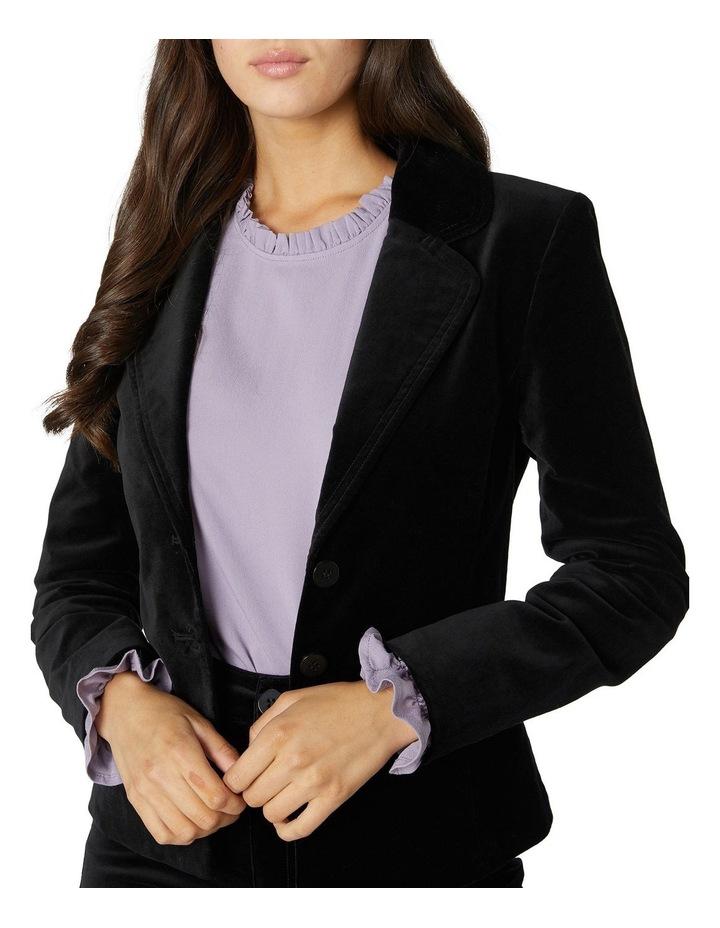 Rachel Velvet Blazer image 4