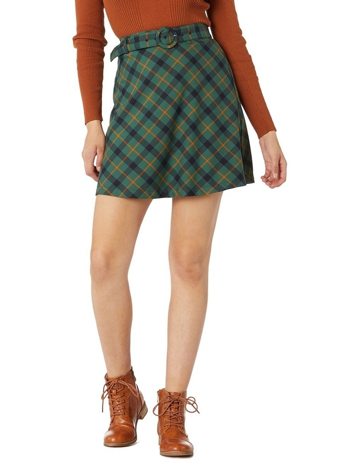 Claudia Check Skirt image 1
