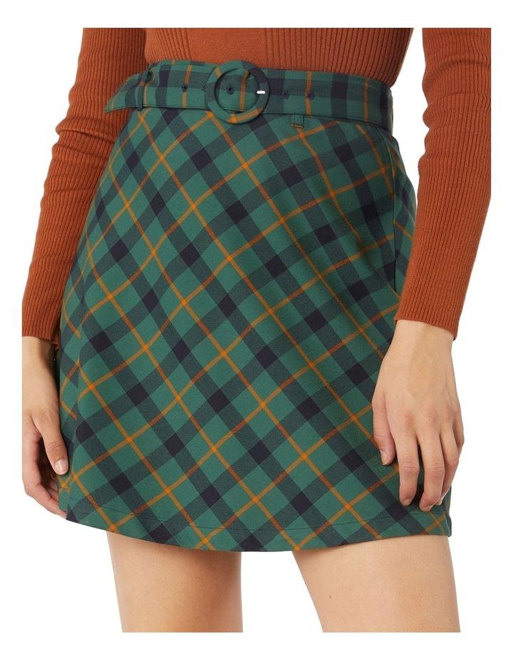 Claudia Check Skirt image 4