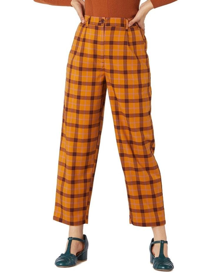 Claudia Check Pants image 1