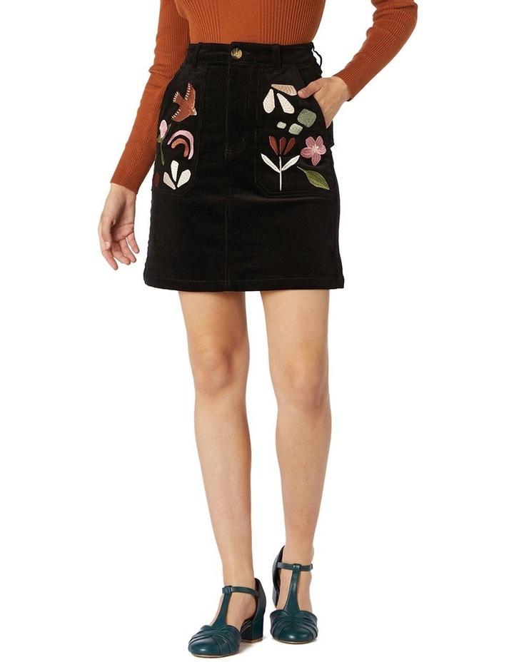 Hazel Geo Cord Skirt image 1