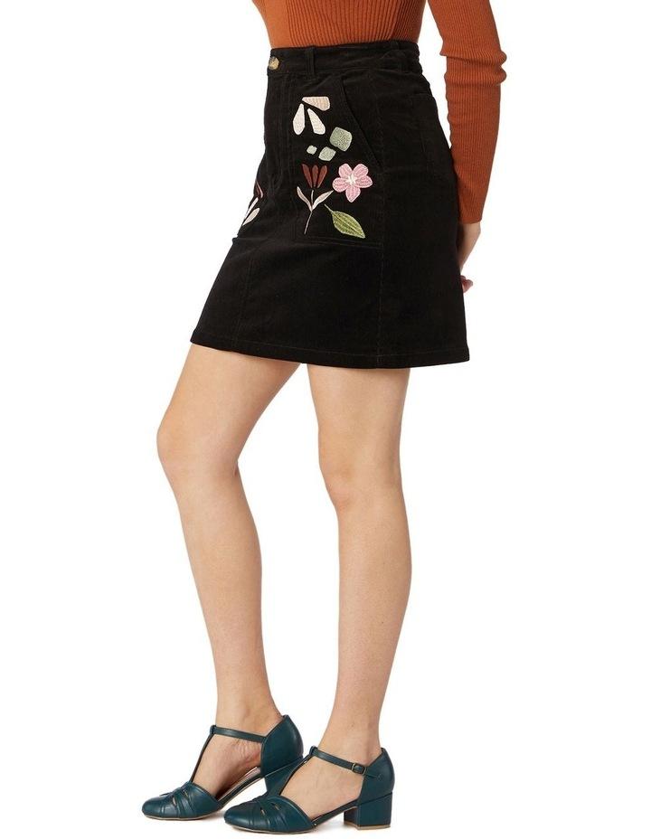 Hazel Geo Cord Skirt image 2