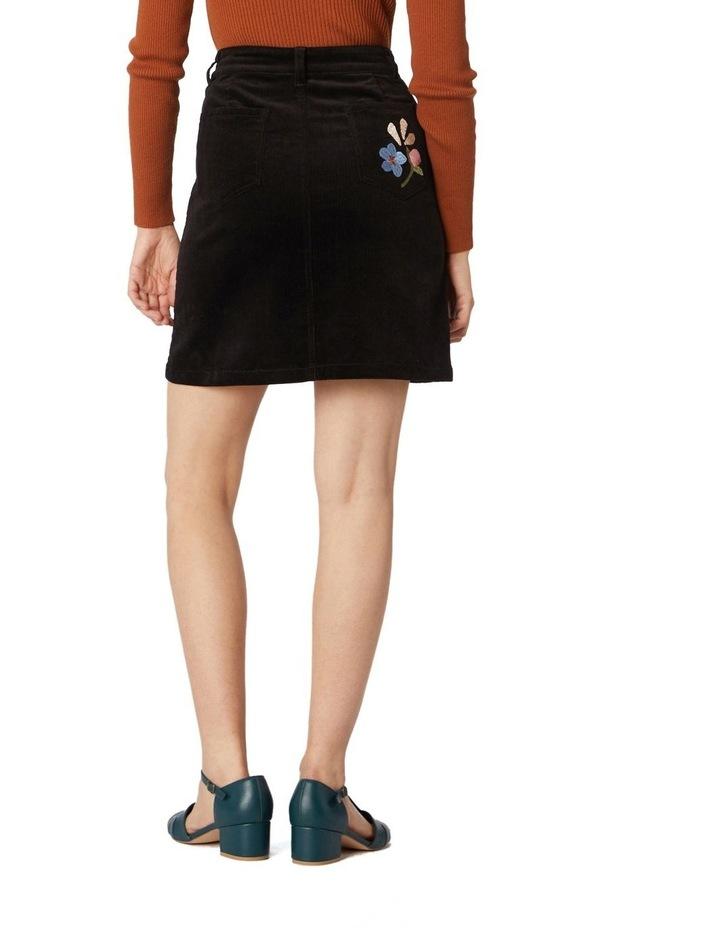 Hazel Geo Cord Skirt image 3