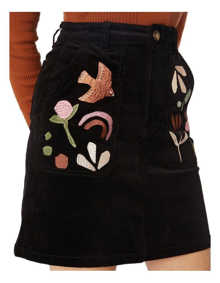 Hazel Geo Cord Skirt image 4