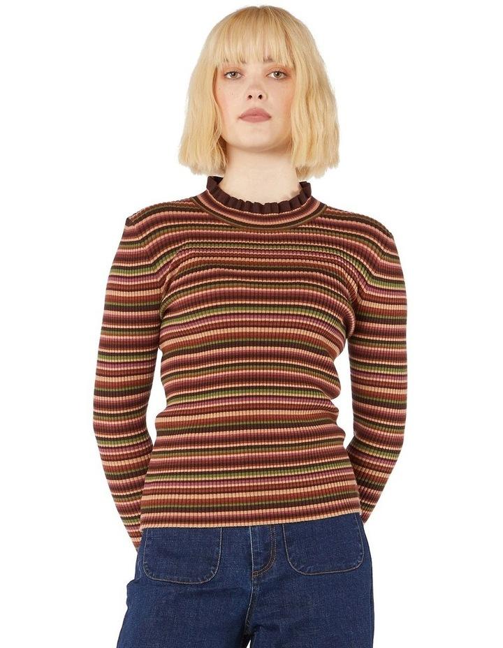 Esther Stripe Knit Top image 1
