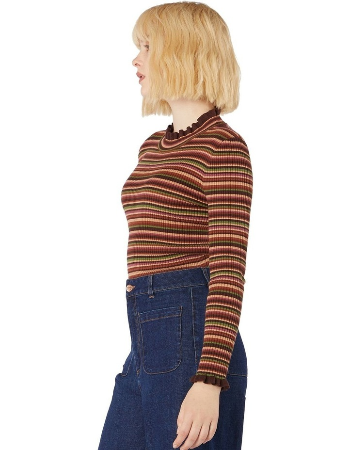 Esther Stripe Knit Top image 2