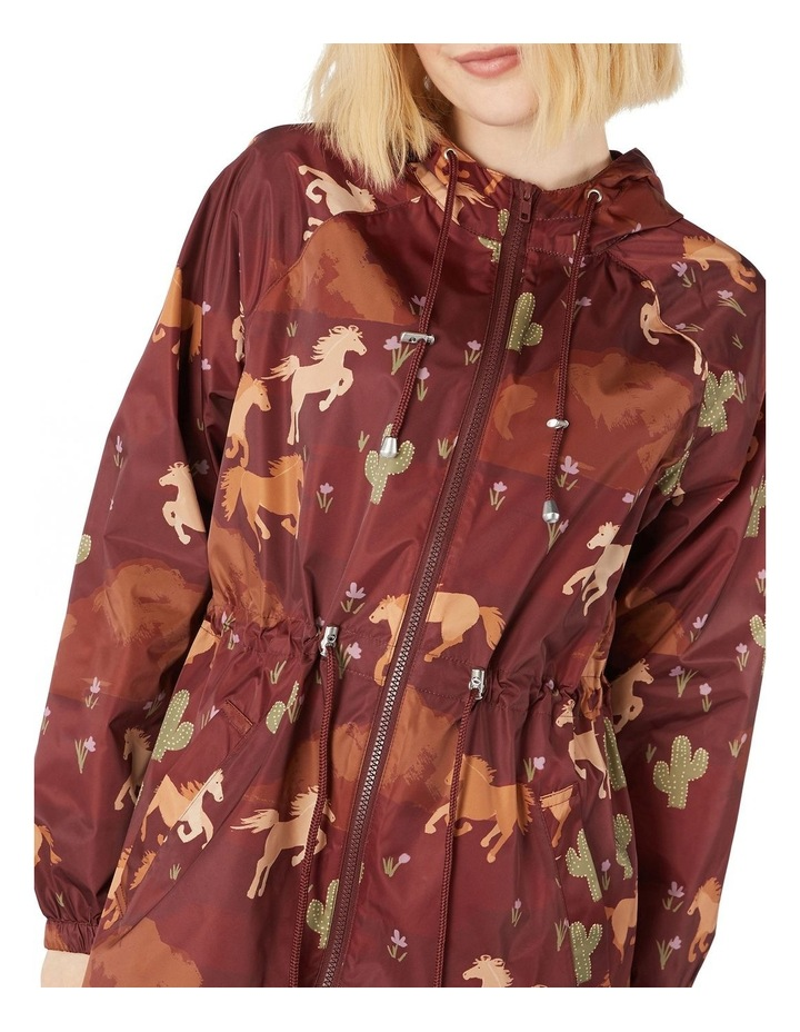 Wild Horses Long Raincoat image 4