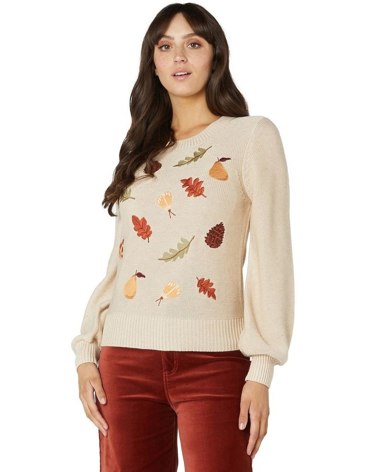 Forest Embroidered Sweater image 1