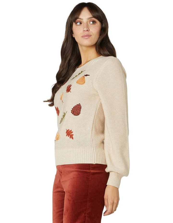 Forest Embroidered Sweater image 2