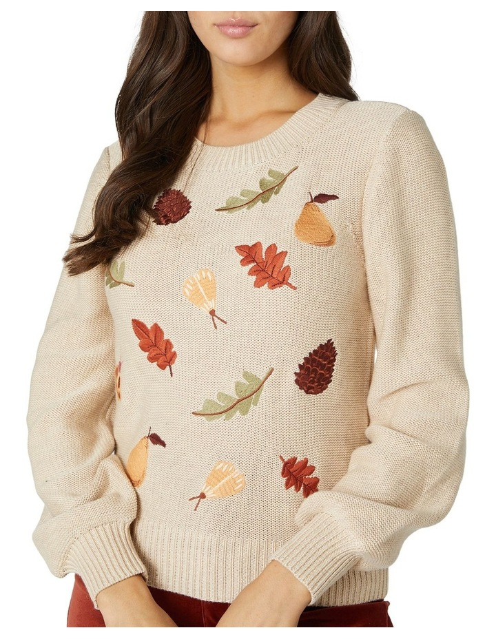 Forest Embroidered Sweater image 4