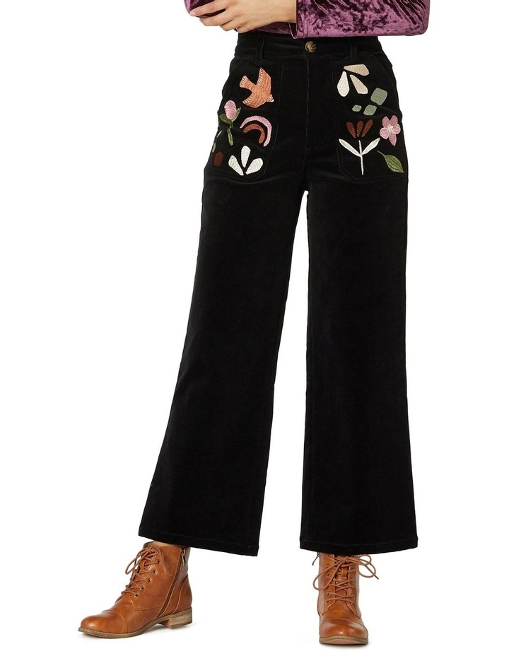 Hazel Geo Cord Jeans image 1