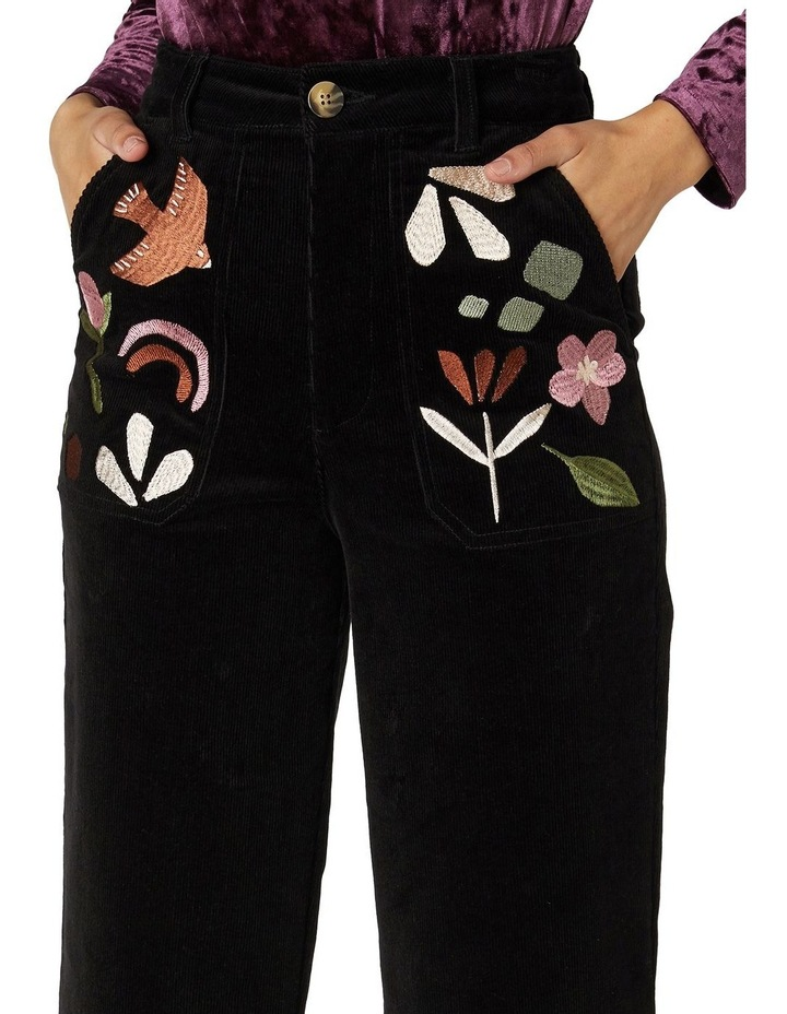 Hazel Geo Cord Jeans image 4