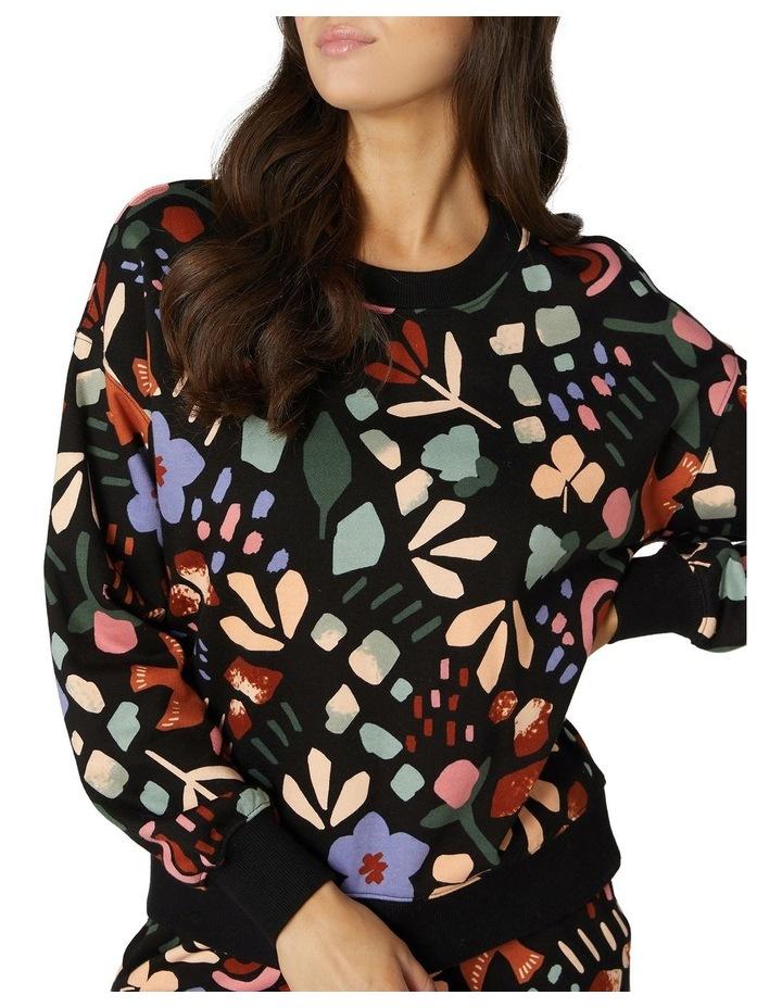 Hazel Geo Fleece Sweater image 4